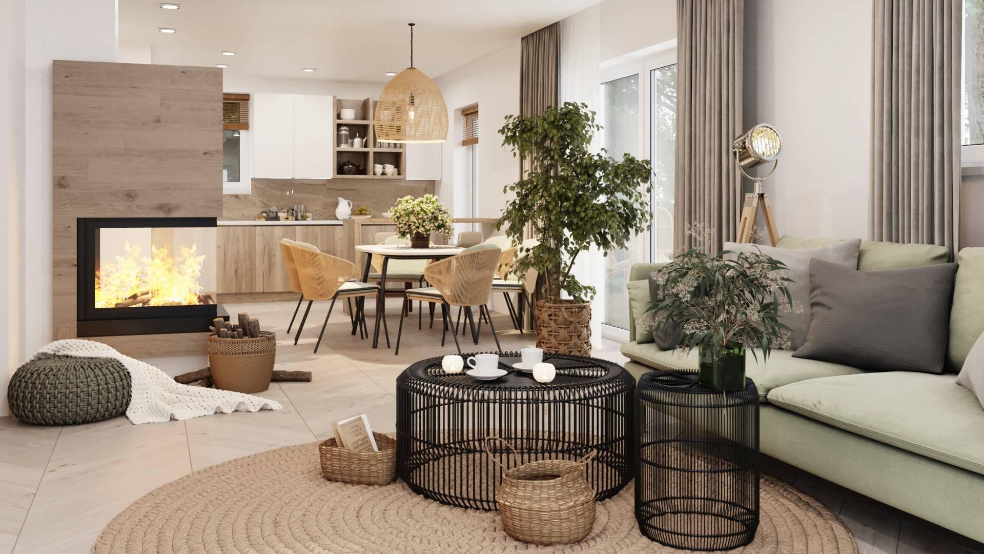Interiérový dizajn – Rodinný dom Eliisa