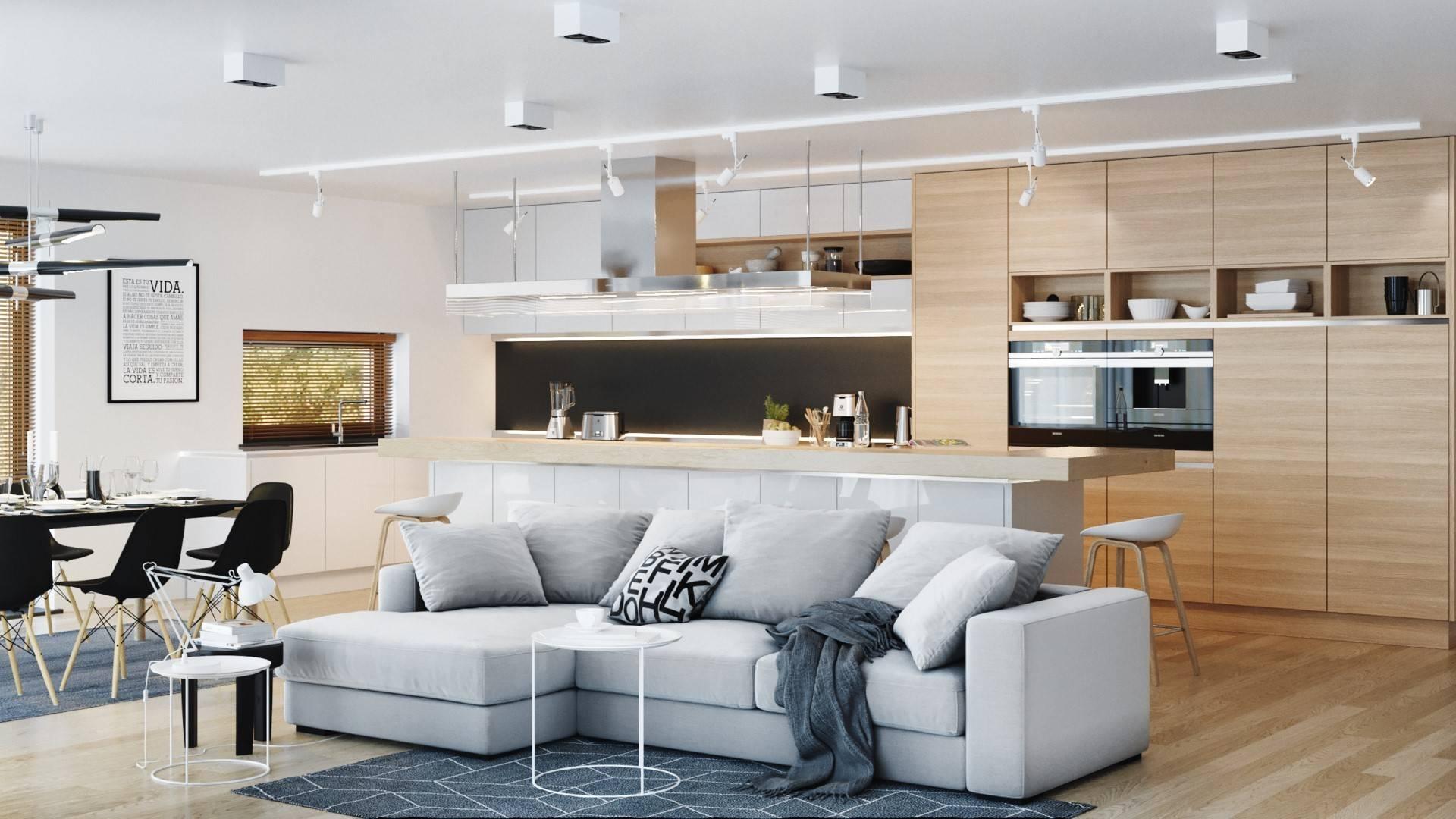 Interiérový dizajn – Rodinný dom Matti