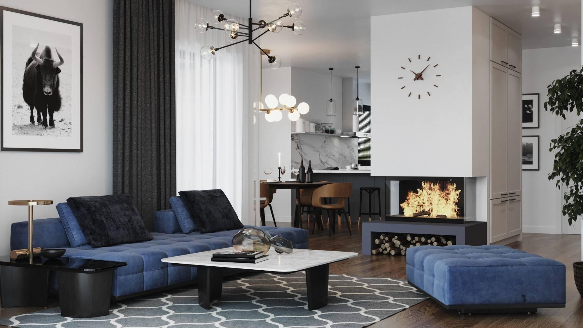 Interiérový dizajn – Rodinný dom Piritta