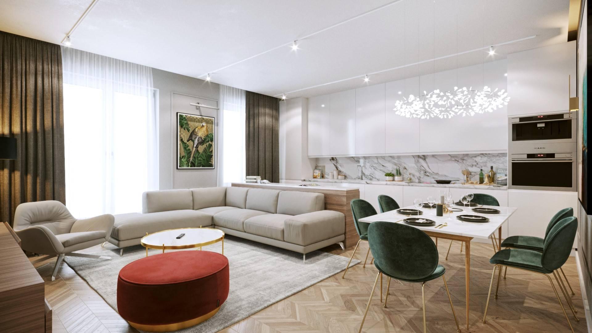 Interiérový dizajn – Byt Horská