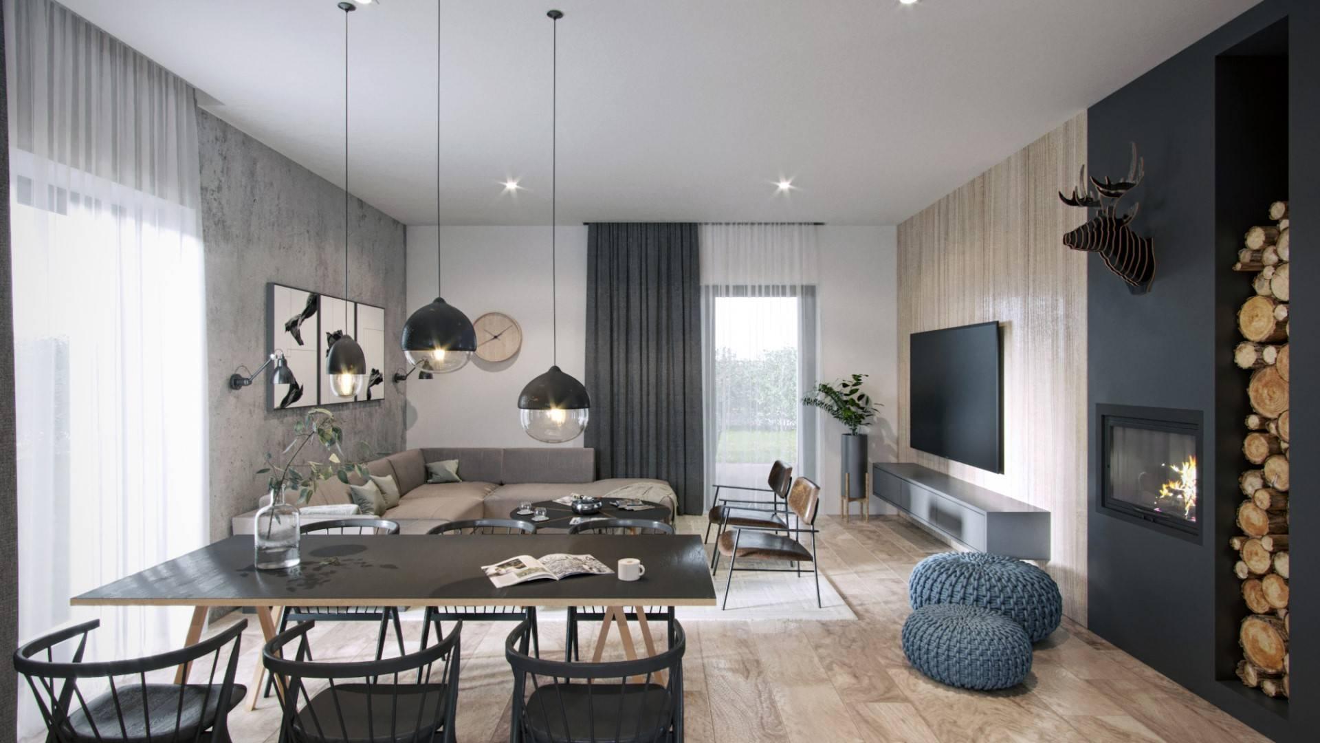 Interiérový dizajn – Rodinný dom Krásna