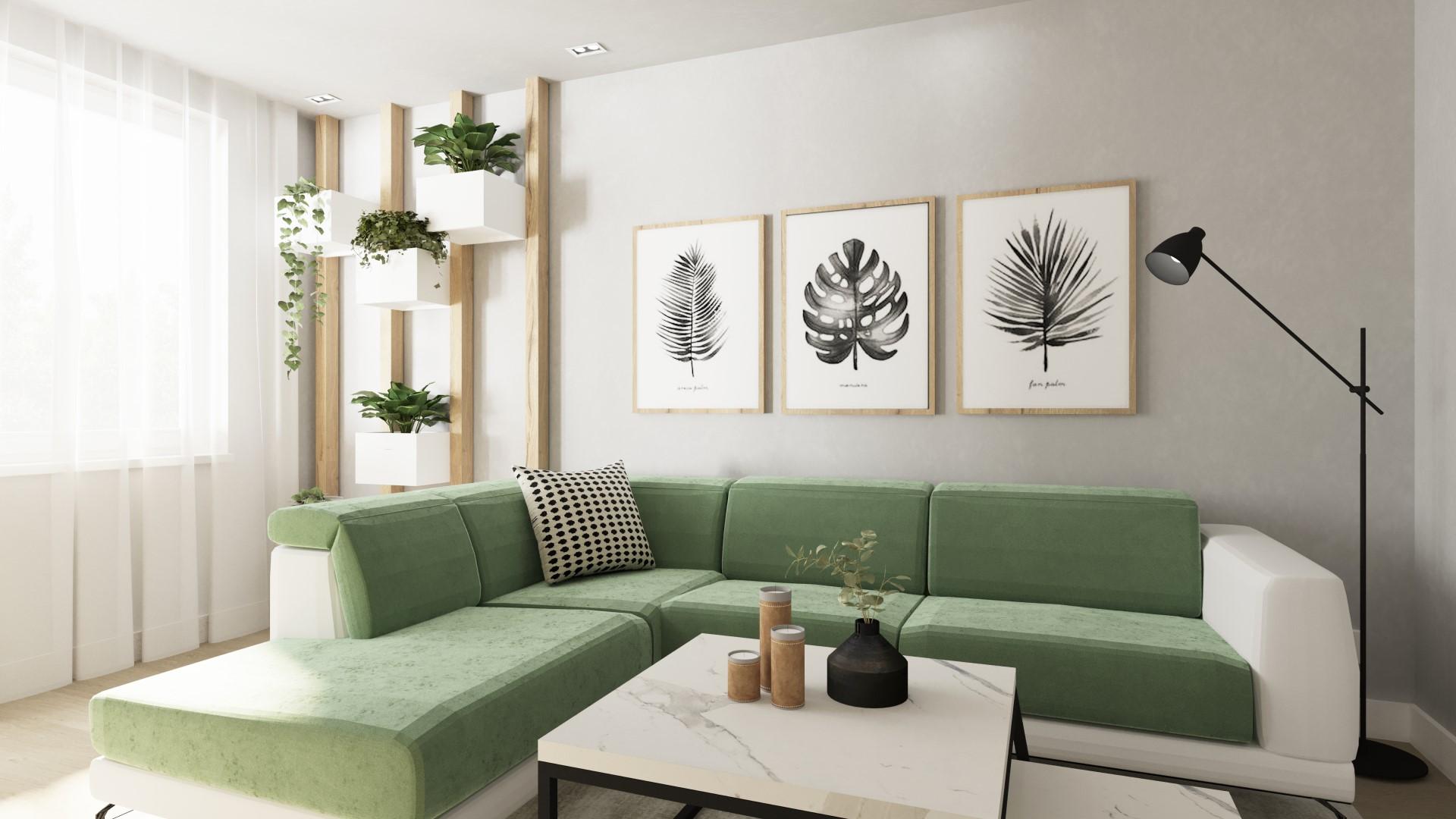 Rekonštrukcia bytu pre záhradnú architektku