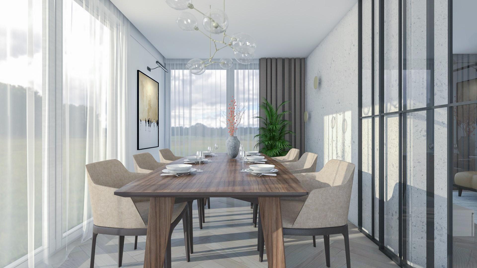 Interiérový dizajn – Rodinný dom Vyšná Šebastová