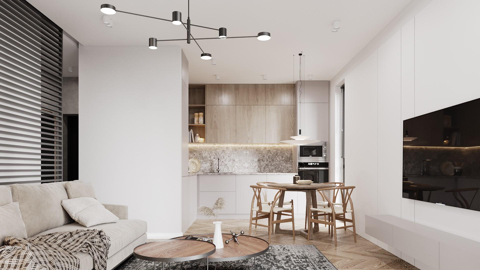 Interiérový dizajn – vzorový byt pre developerský projekt Bulgari II v Prešove